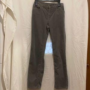 Lauren Grey/Green corduroy pants thin line size 8
